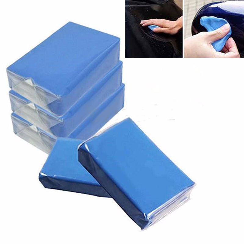 5X Magic Clay Bar Car Auto Car Care Truck Mud Cleaning Remove Wash Marks Detailing Cleaner Washer Blue Car Cleaning Accessories