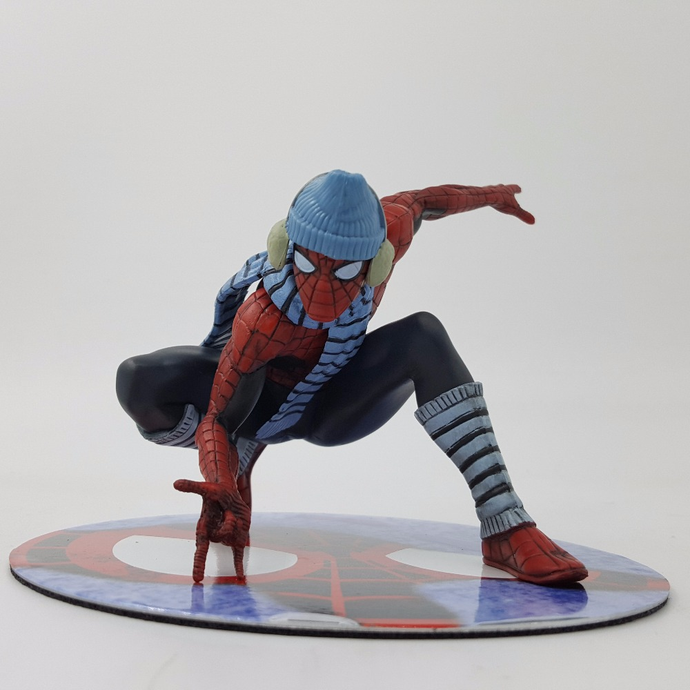 SpiderMan Homecoming Action Figure ARTFX+ X MEN Winter Spiderman Cartoon Toy Model Toy Anime Movie Spiderman Homecoming
