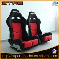 2PCS/LOT Adjustable Sport Racing Seat Black Red Auto Car Seats High quality