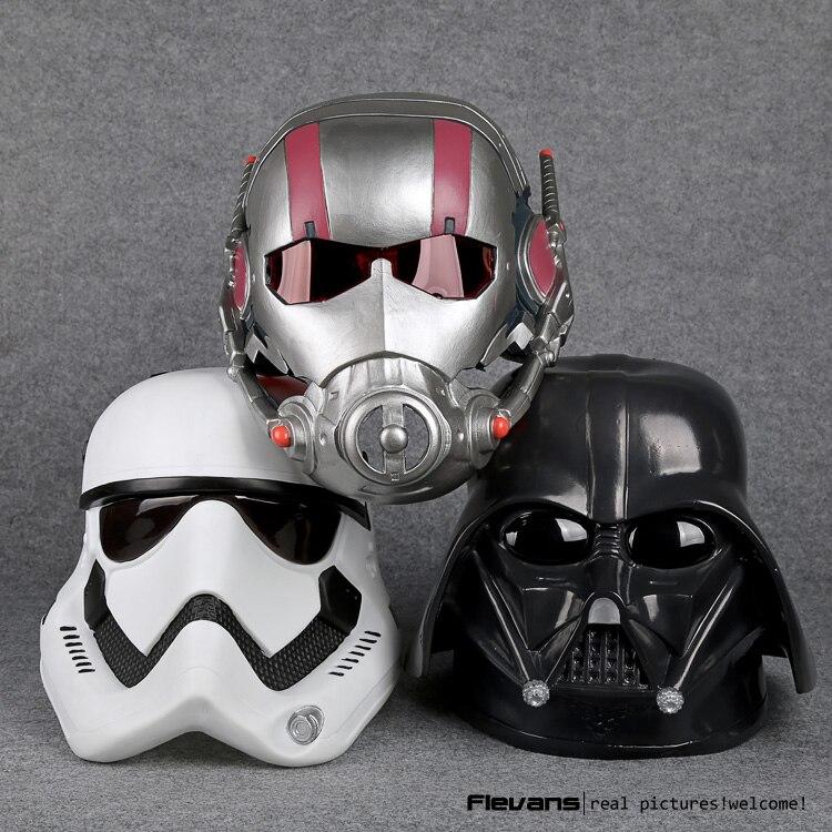 star wars stormtrooper darth vader ant man cosplay mask helmet resin action figure collectible. Black Bedroom Furniture Sets. Home Design Ideas
