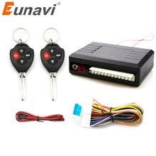Eunavi Universal Auto Auto Fernbedienung Zentrale Kit Lock Entsperren Keyless Entry System Zentralverriegelung LED Zeigen Stamm Release taste
