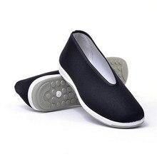 Китайская традиционная обувь старого Пекина Брюс Ли дышащая обувь кунг-фу Тай Чи резиновая подошва военные художественные кроссовки для мужчин и женщин