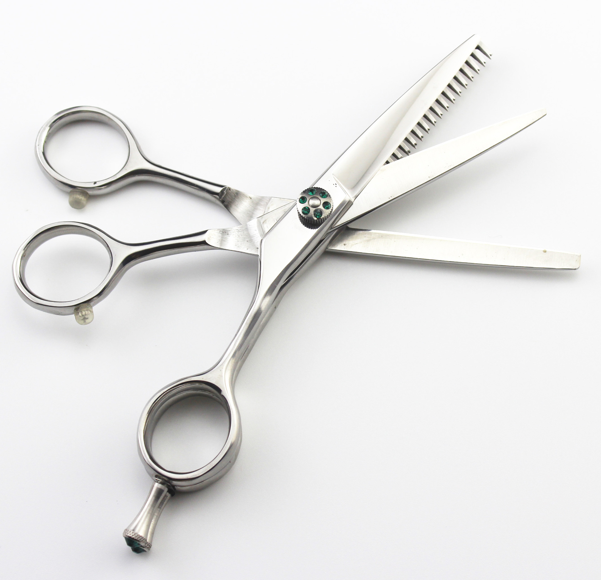 5.5 inch upscale hairdressing scissors cut the combination cut flat + 2 teeth ледянка 1toy cut the rope cut the rope