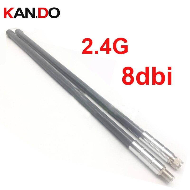 2.4ghz 2400-2483MHZ pole WIFI repeater antenna 8dbi gain booster use antenna AP antenna WIFI ROUTER Antenna pole