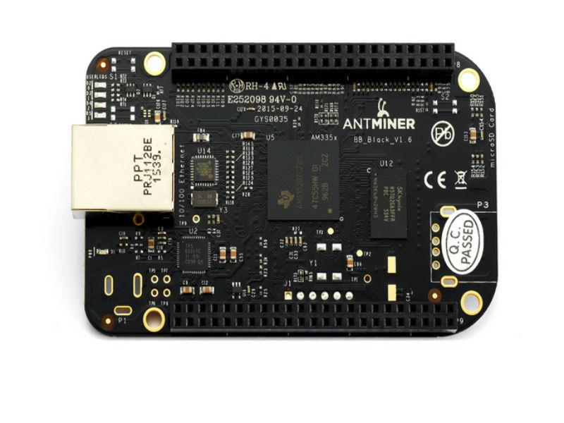 Envío Gratis Antminer S4... S4 + S5... S5 + S7 BB versión BeagleBone Black BB negro BB de AM3352BZCZ100 Placa de desarrollo