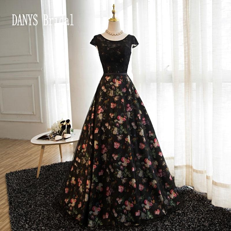 Black Long Evening font b Dresses b font Party Women font b Elegant b font Bridal