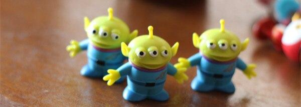 Toy Story Mignon Alien Action Figure Jouet Poupée DIY Matériel ...