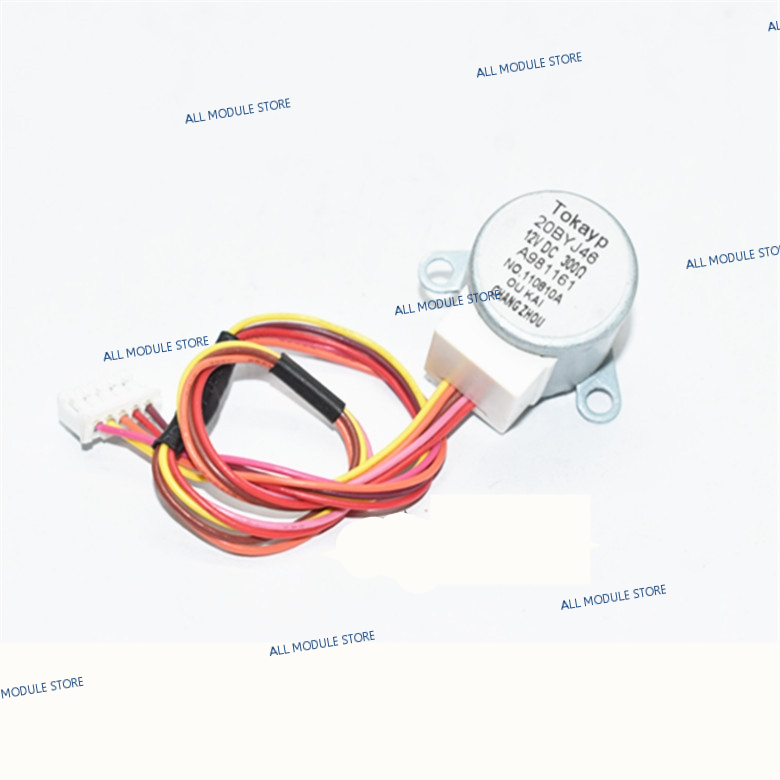 20BYJ46 Original For Air Conditioning Drift Swing Wind Motor Stepping Motor 20BYJ46 12V 16V 20-30cm Length
