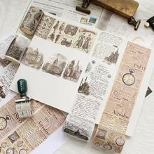 European Antiquity Washi Tape Adhesive Tape DIY Scrapbooking Sticker Label Masking Tape