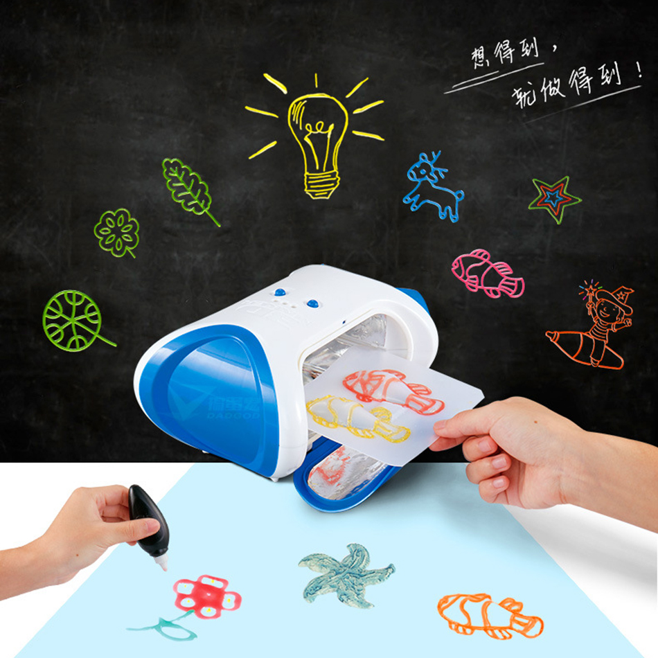 3D Printer Children Education Toy Creative DIY  Molding Machine Handmade Toys Novelty Gift