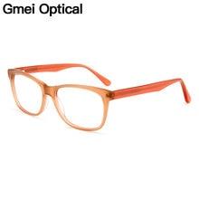 6680b8507f Gmei Optical Vogue Acetate Full Rim Women Eyeglasses Frame Men Myopia  Presbyopia