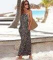 Лето 2016 Новый Женщины Платье Типа Богема Без Бретелек Печатные Сексуальное Платье Nightculb Износа