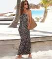 Verão 2016 Novas Mulheres Se Vestem Estilo Bohemia Strapless Impresso Vestido Nightculb Sexy Desgaste