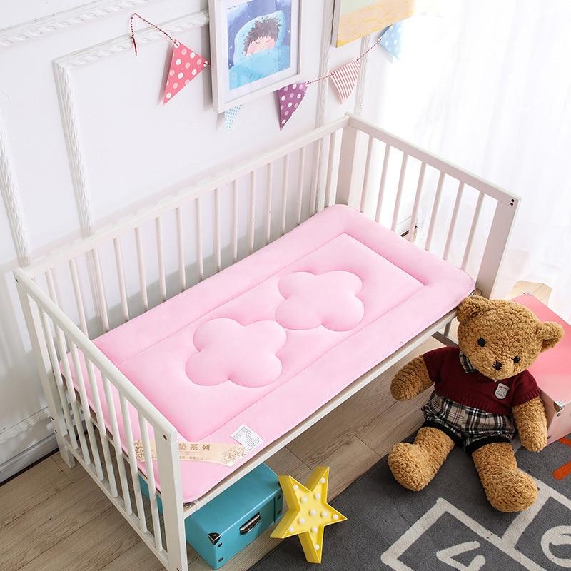Новый стиль Модные теплые один ребенок/детский матрас постельные принадлежности кроватки матрас двойной лето и зима