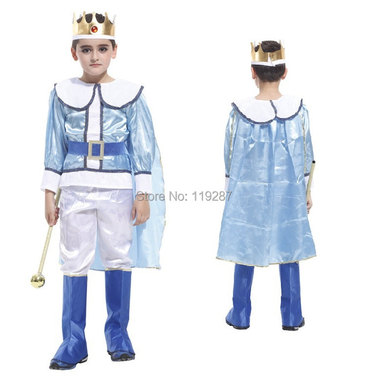 Boys Prince boy clothes costume show king of clothes Halloween ...