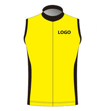 лучшая цена 2016 Custom Windproof Cycling Vest Sleeveless Jersey Can Choose Any size/Any color/Any logo Accept  DIY Bicycle Wear