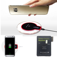 Qi Wireless Charger Transmitter Charging Pad Mat Plate N Qi Wireless Charging Receiver For Samsung