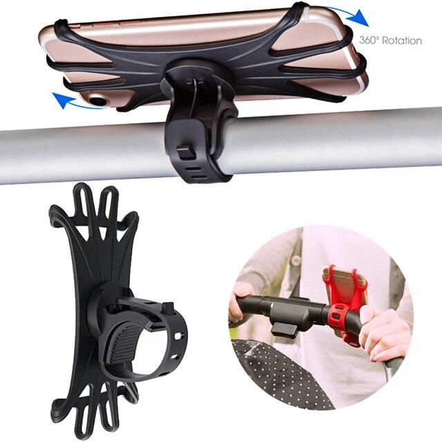 Aksesoris Pemegang Ponsel Rotatable untuk Stroller   2