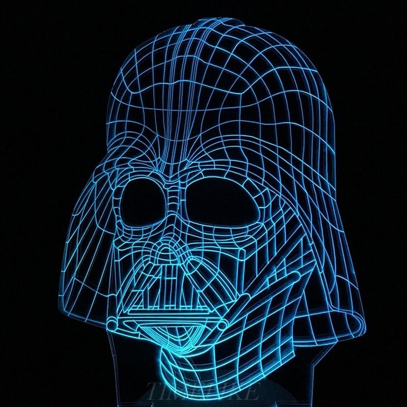 Luzes da Noite darth vader de star wars Utilização : Feriado