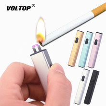 Mini Arc Cigarette Lighter Car Accesories USB Charger Adapter Metal Windproof Multifunctional Portable Creative Gift