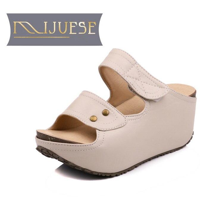 MLJUESE 2018 zapatillas de mujer estilo al aire libre de verano color - Zapatos de mujer - foto 2