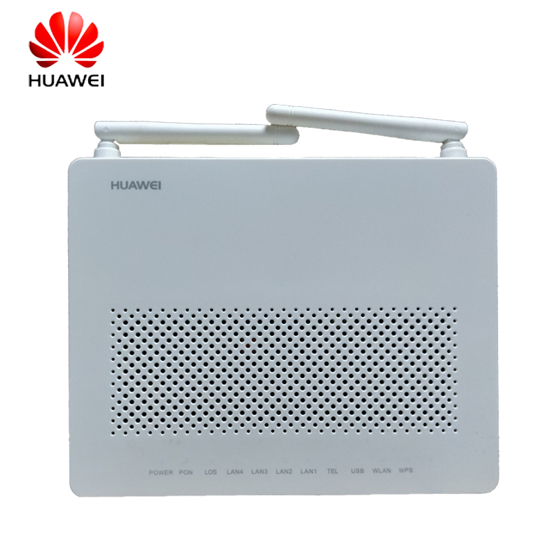 Top Sale Huawei HG8546M Ftth Gpon Oun Fiber Optic Router Ont fiber equipment English Vershion with 1ge+3fe+wifi+voice+usb wallet