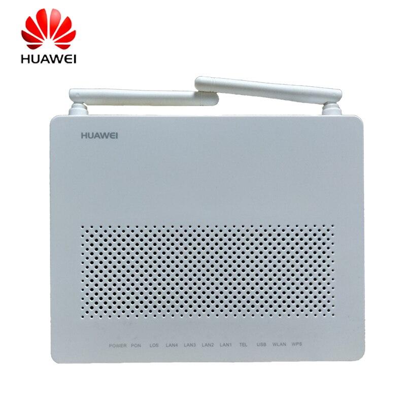 Top Verkauf Huawei HG8546M Ftth Gpon Oun Fiber Optic Router Ont faser ausrüstung Englisch Vershion mit 1ge + 3fe + wifi + stimme + usb