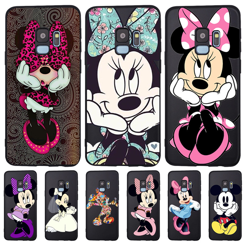cartoon For <font><b>Samsung</b></font> Galaxy S6 S7 Edge S8 S9 S10 Plus Lite Note 8 9 <font><b>A10</b></font> A20 A30 A40 A50 A70 phone Case Cover Coque Etui <font><b>Funda</b></font> image