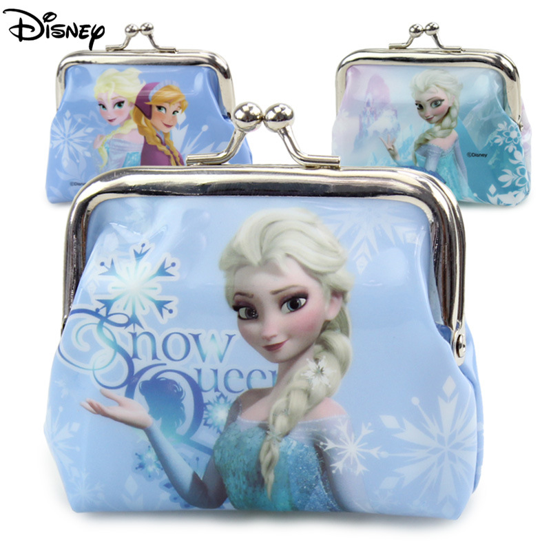 Disney Doll Accessories Princess Iron Buckle Small Purse Child Coin Bag frozen Anna Elsa girl 100pcs mini button buckle blyth doll clothing accessory tri glide 3 mm ultra small belt buckle doll clothes buttons shoes buckle