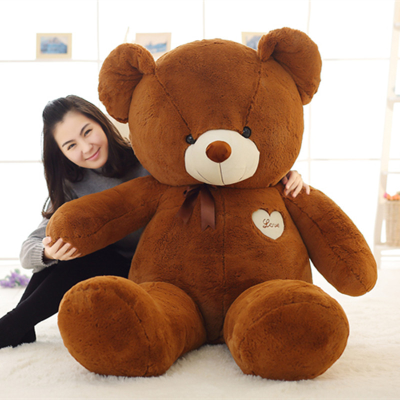 Giant Teddy Bear Hull Huge Size Bear Skin Wholesale Price Quality Semi-finished Bear Toys Party Big Dolls Valentine's Day Gift