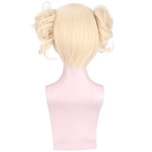 Image 3 - Cosroad Boku no My Hero Academia Himiko Toga Cosplay Wig Mask Cosplay Props Accessories for Halloween Party