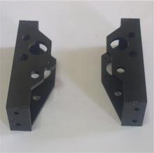 Horizon Elephant Lulzbot TAZ4_3D printer Parts metal aluminum alloy Z-motor mount left/right side kit