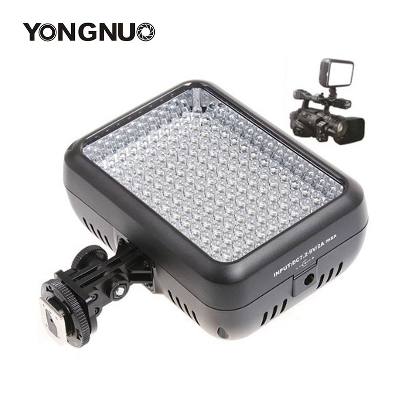 Yongnuo YN1410 140 LED Video Light For Canon NikonSLR Camera Standard Level--5500K Bulb  Last 20000 hours For Panasonic CGR-D16S led телевизор panasonic tx 43dr300zz