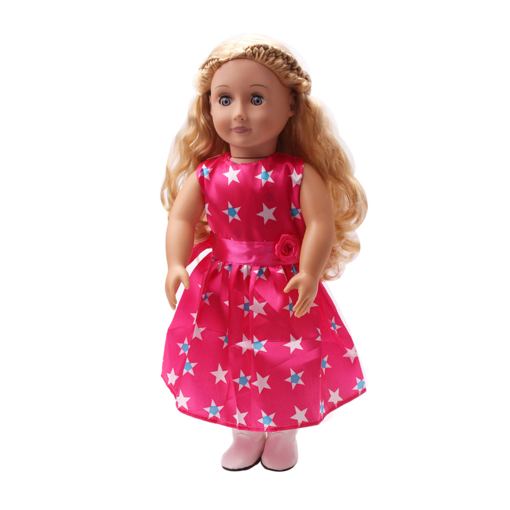 Free shipping!!! hot 2014 new style Popular 18 inches American girl doll clothes/dress c101