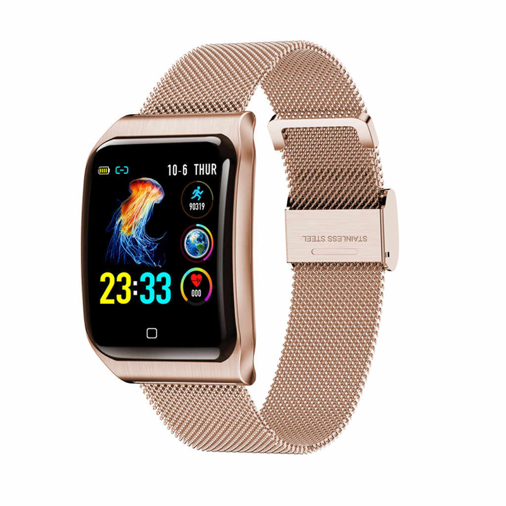 Watch 2019 Smart Wristband Blood Pressure Heart Rate Monitor Bluetooth Fitness Watch  USPS cool dropshipping