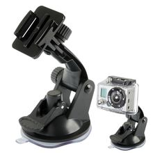 Go pro Accessories Vacuum Suction Cup Car Windshield Mount For Xiaomi Yi GoPro Hero 4 3 SJ4000 SJ5000 SJ7000 Action Camera
