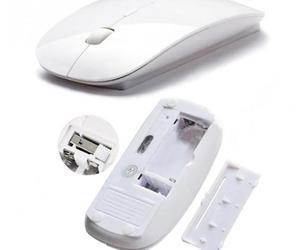 Image 3 - Ultra Fina 2.4 GHz Wireless Optical Mouse PC Ratos Do Computador com Adaptador USB Mause para todos computador laptop Mouse Sem Fio