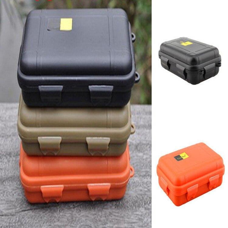 Wasserdichte box telefon fall Stoßfest Luftdichten Überleben im freien Fall Container Lagerung Carry Box mit schaum futter kostenloser versand