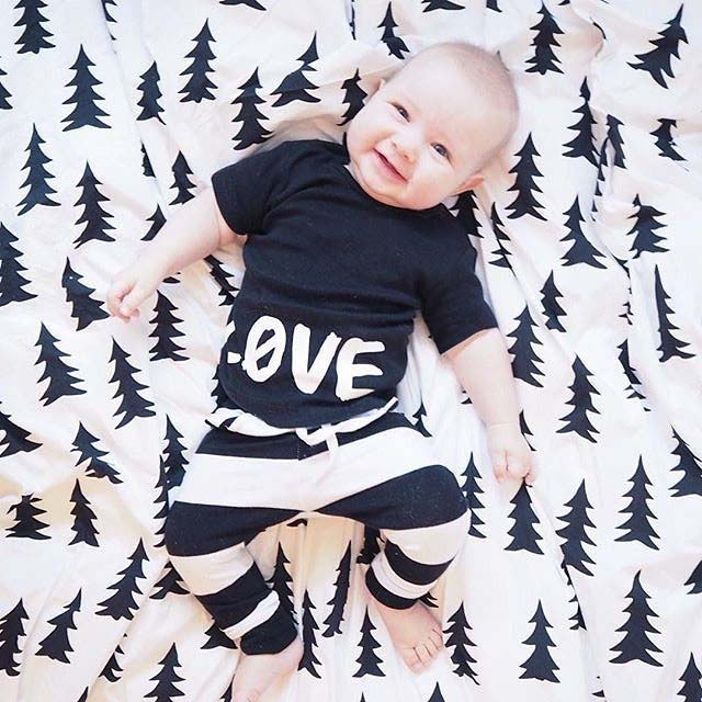 2016 New Summer Style Sports Suit Fashion Baby Boy Clothing Set Soft