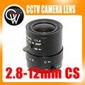 """2MP HD 2.8-12mm cctv lente CS Monte Manual Focal IR 1/2. 7 """"1:1. 4 para Câmera De Segurança IP"""