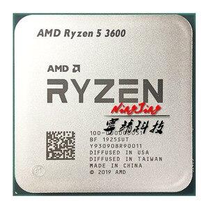 Image 4 - AMD Ryzen 5 3600 R5 3600 3.6 GHz Six Core Twelve Thread CPU Processor 7NM 65W L3=32M  100 000000031 Socket AM4 new but no fan