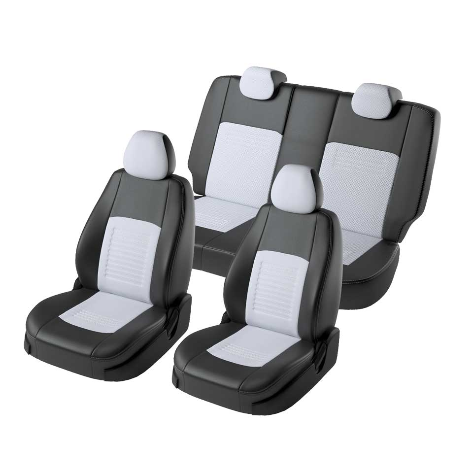 For Nissan Qashqai J11 2014-2019 special seat covers full set (Model Turin Eco-leather) for hyundai solaris hatchback special seat covers full set model turin eco leather