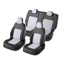 Для Nissan Qashqai J11 2014-2019 комплект модельных авточехлов (модель Турин экокожа)