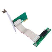 Szllwl PCI-E 1X удлинитель укрепить мощность шахты расширение линии