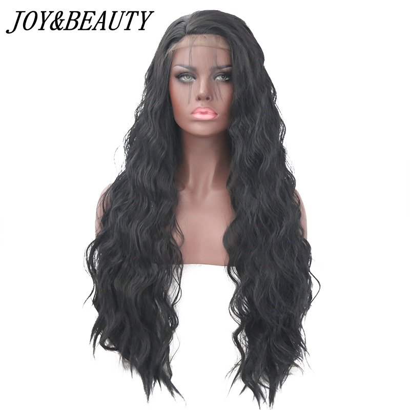 JOY&BEAUTY Synthetic Lace Front Wig 22-28 Inch baby hair Lon