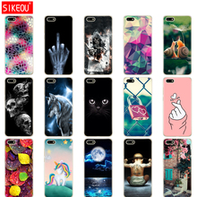 Silicon case For Huawei Y5 Lite 2018 5.45 inch Soft Tpu Phone Case for Huawei Y5 2018 Back Cover For huawei Y5 PRIME 2018 bumpe