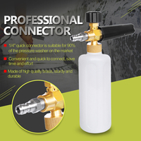 Car Styling Foam Gun Car Wash Pressure Washer Jet Wash 1 4 Quick Release Adjustable Snow