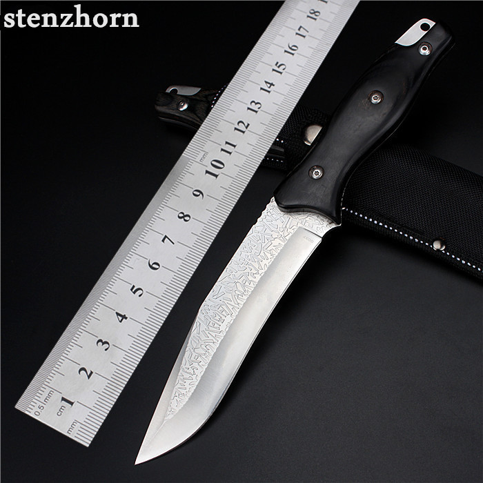 Stenzhorn 2017 New Outdoor Self-defense Field High Hardness Saber Wilderness Survival Fruit Knife Small Straight Folding Etched  цены