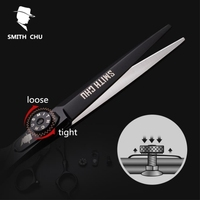 Smith Chu 6 Sale Black Japan Hair Scissors Teflon Shears Cheap Hairdressing Scissors Barber Thinning Scissor