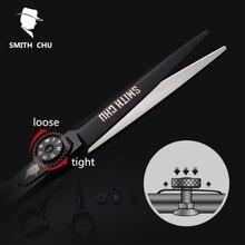 """Smith chu 6 """"verkauf schwarz japan haar schere teflon scheren günstige friseur schere friseur ausdünnung scissor friseur haarschnitt"""